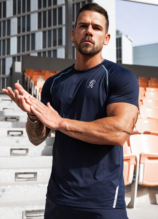 Gym King Sport Avail Tee - Navy