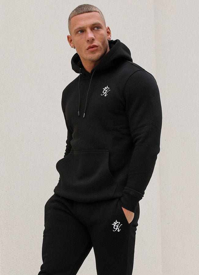 Gym King Basis Overhead Hoodie - Black