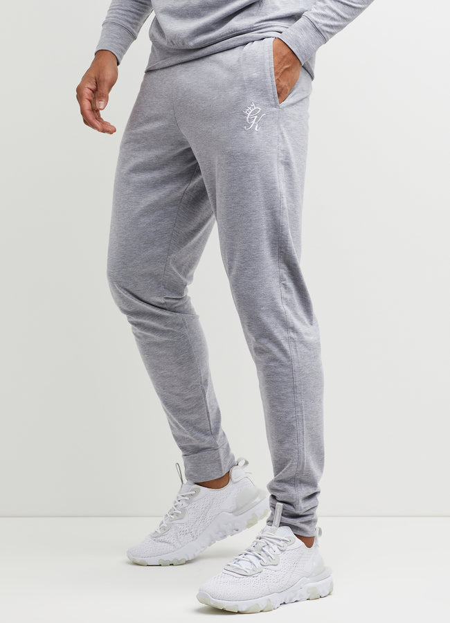 Gym King Lightweight Lounge Jogger - Grey Marl