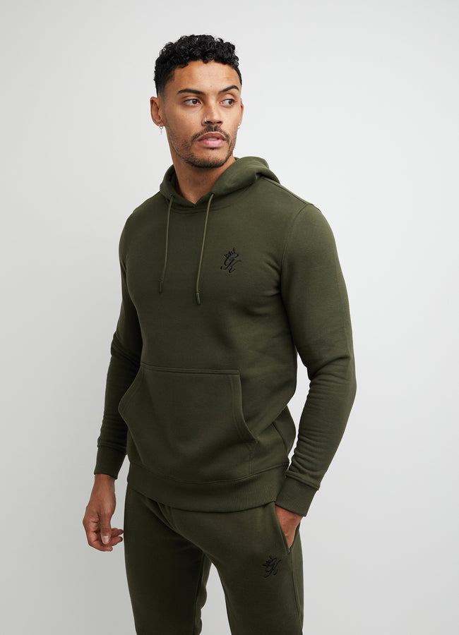 Gym King Basis Overhead Hoodie - Khaki