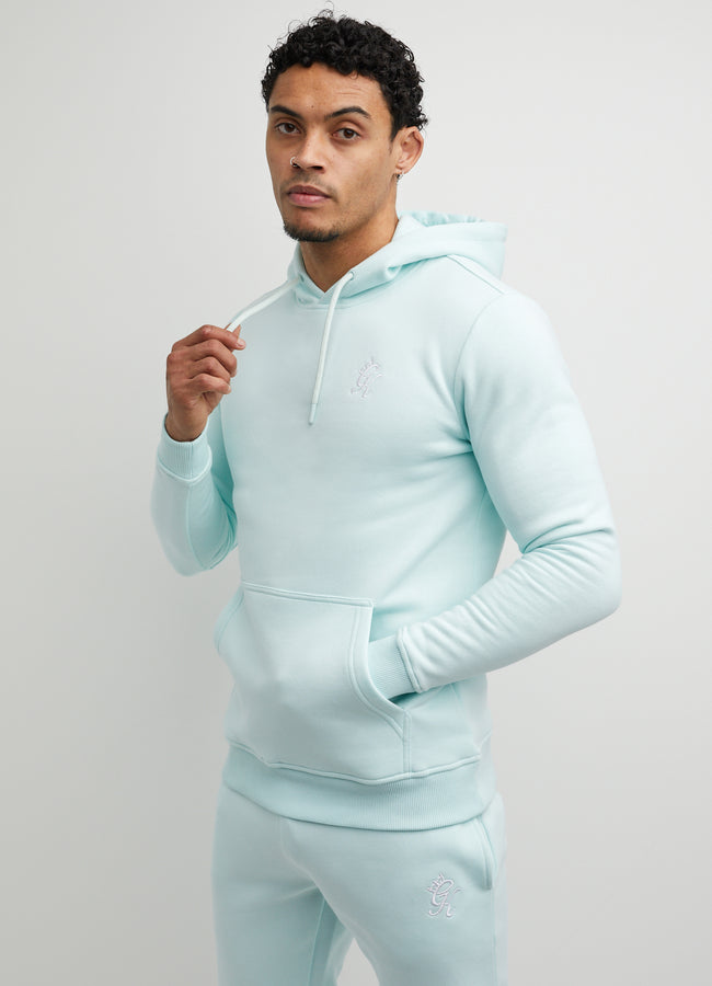 Gym King Basis Overhead Hoodie - Pale Mint