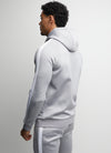 Gym King Basis Poly Tracksuit Top - Grey Marl