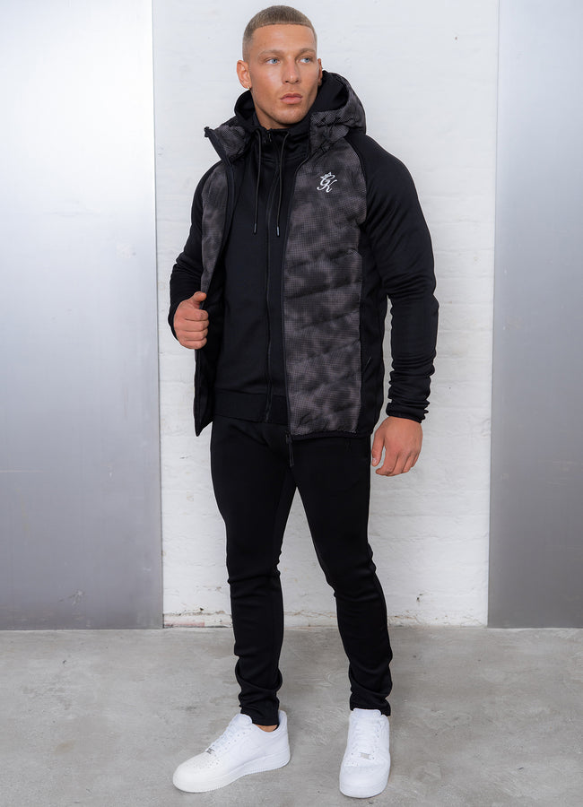 Gym King Bones Tech Jacket - Camo/Black