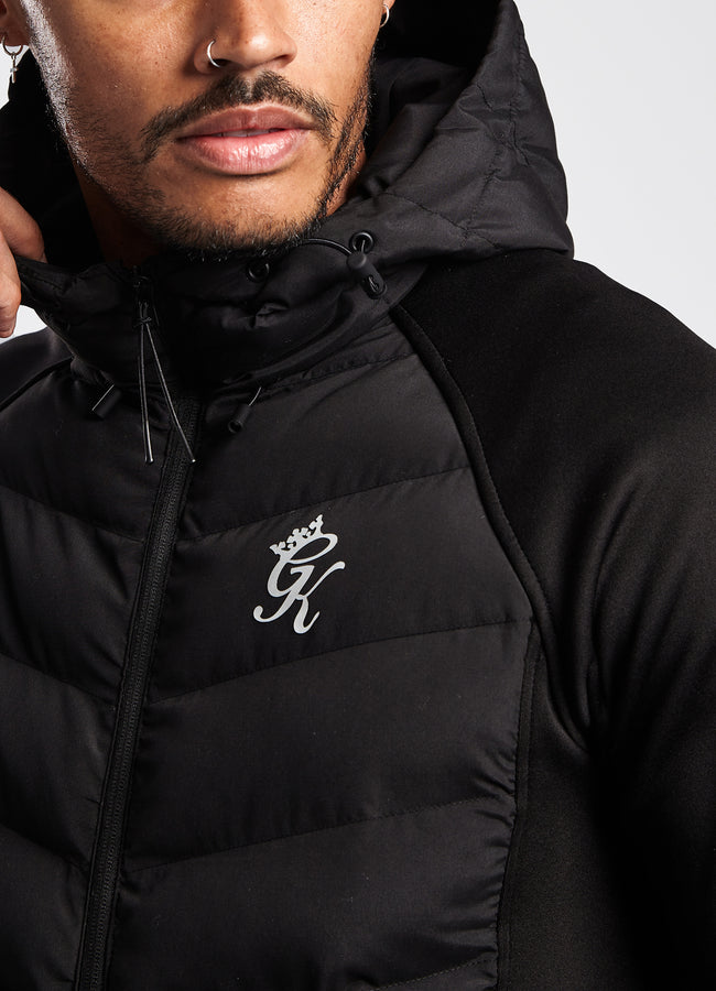Gym King Bones Tech Jacket - Black