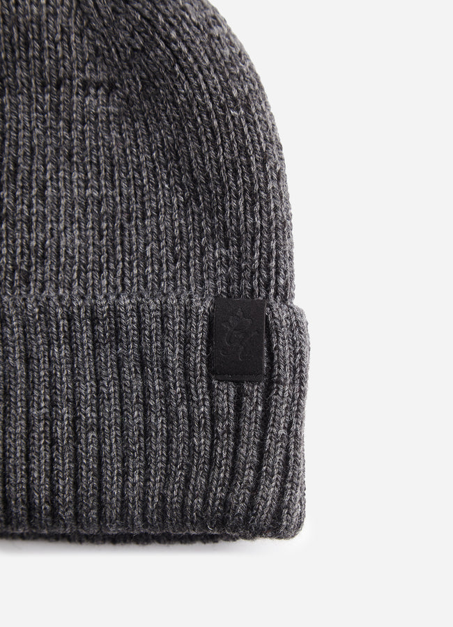Gym King Calder Beanie - Charcoal Marl