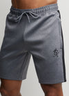 Gym King Nebby Short - Charcoal Marl