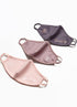Gym King Nano Face Mask (3PK) - Pink/Grey/Rose
