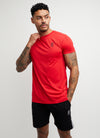 Gym King Sport Energy Tee - Red