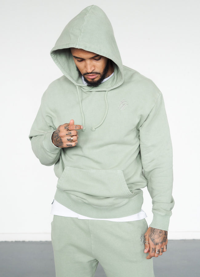Gym King Basis Oversized Hood - Fern