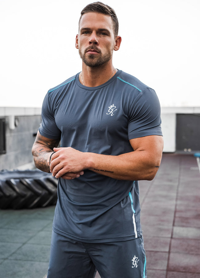 Gym King Sport Flex Tee - Dark Grey