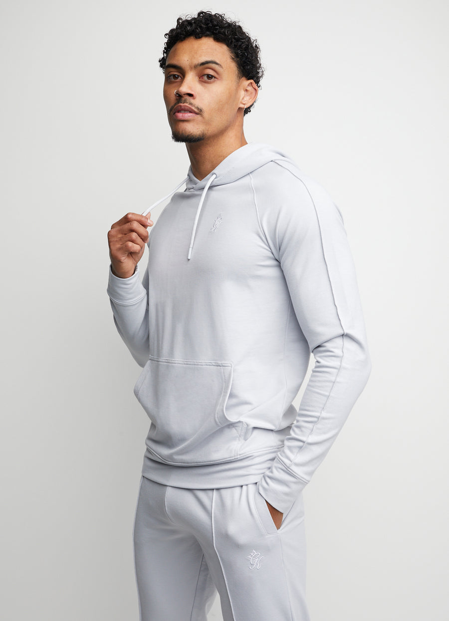 Gym King Signature Hoodie - Light Grey