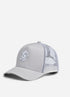 Gym King Gourley Cap - Silver Grey/White