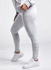 Gym King Graphic Legging - Grey Marl