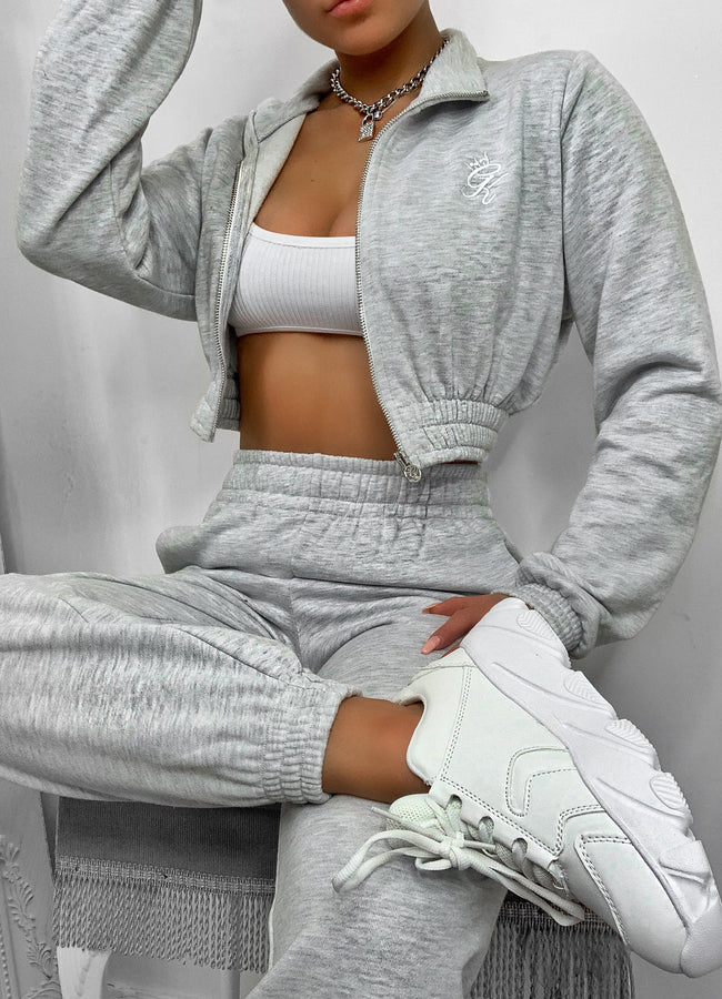 Gym King Boyfriend Jogger - Grey Marl