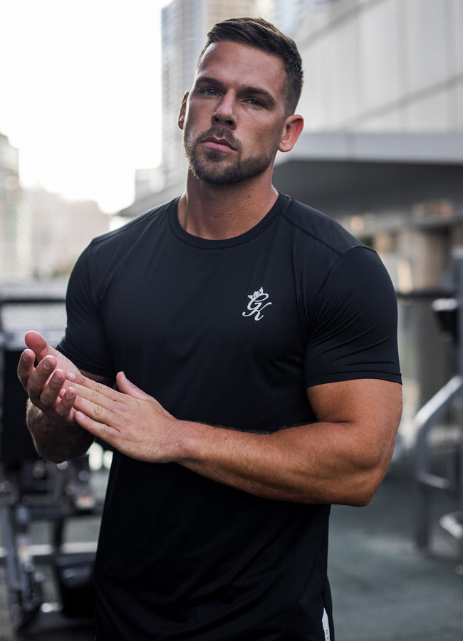Gym King Sport Energy Tee - Black