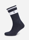 Gym King Ryu Socks (3pk) - Grey Marl/French Blue/Turbulence Grey