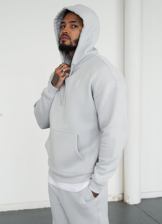 Gym King Basis Oversized Hood - Microchip