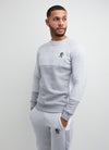 Gym King Minefield Crew - Grey Marl