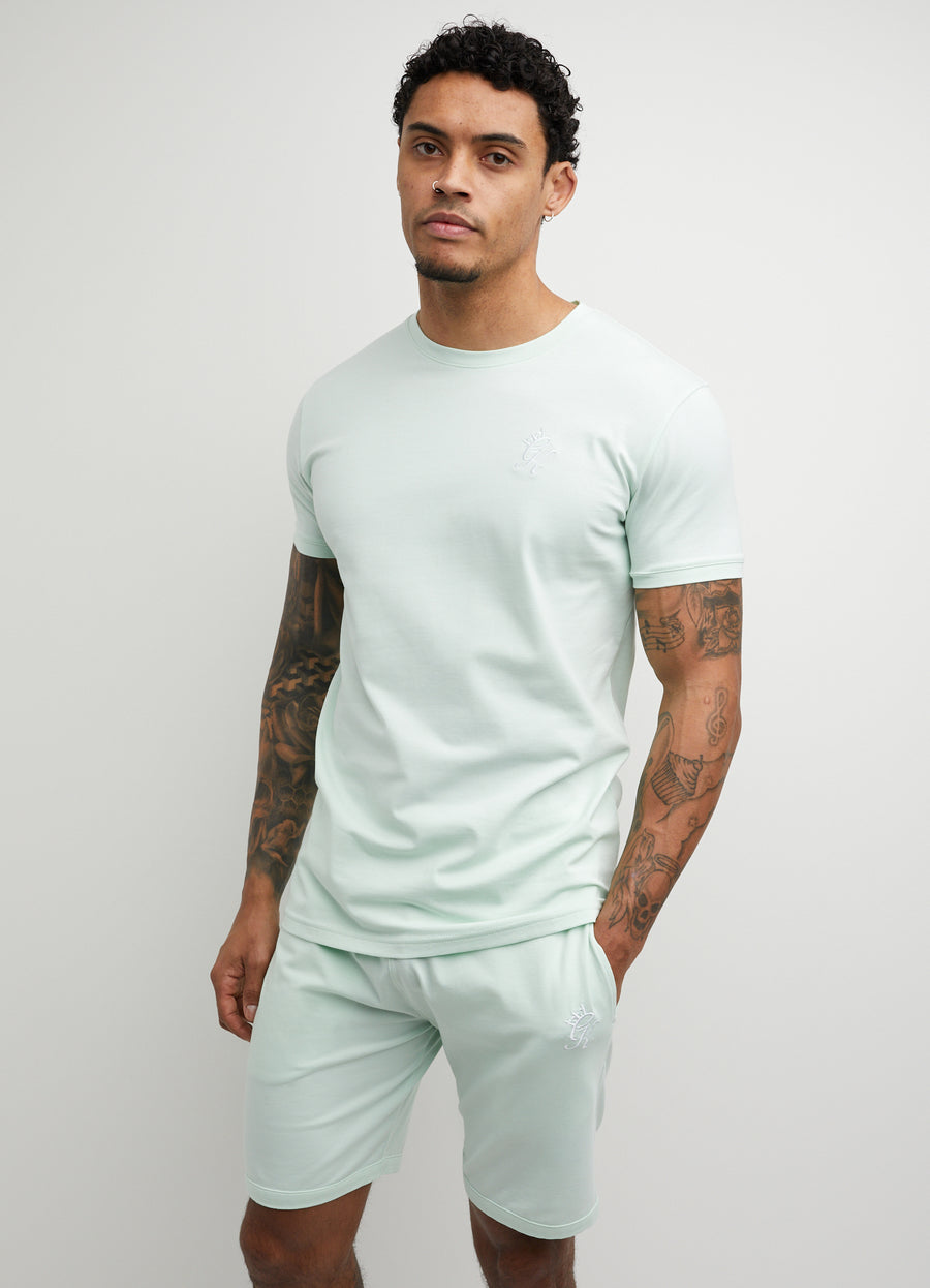 Gym King Basis Origin Tee - Pale Mint