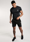 Gym King Sport Pro Jersey Short - Black
