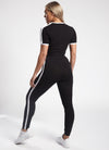 Gym King Linear Legging - Black