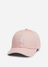 Gym King Royce Cap - Dusky Mauve/White