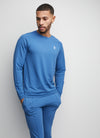 Gym King Signature Crew Sweat - Cobalt Blue