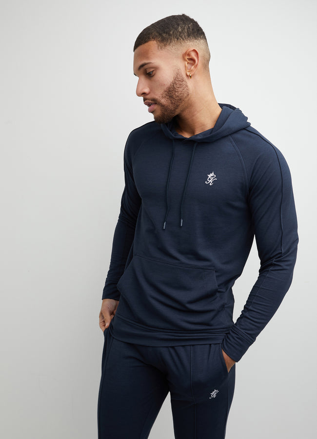 Gym King Signature Hood - Dark Navy