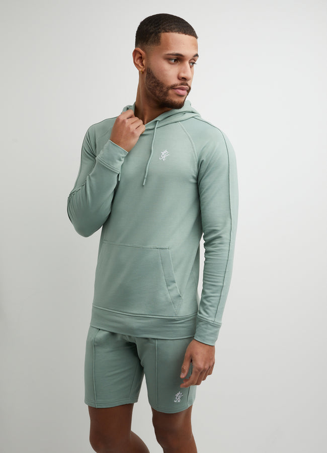 Gym King Signature Hood - Basil