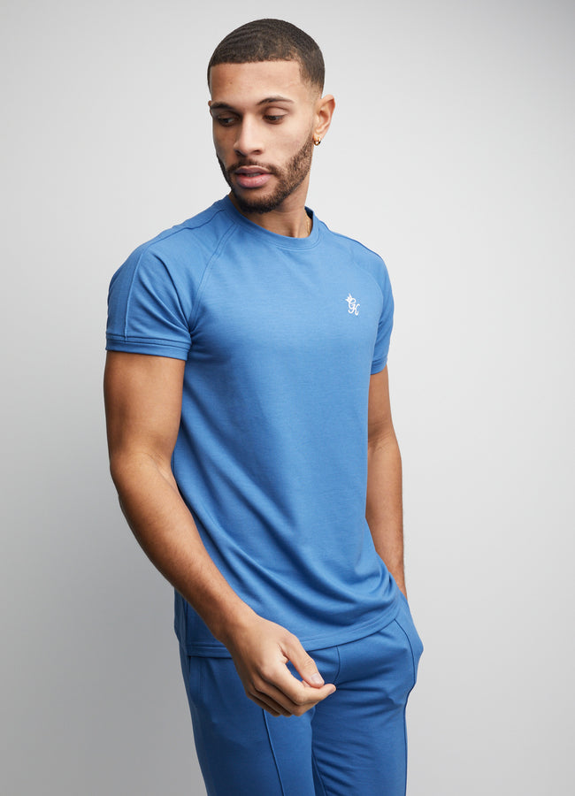Gym King Signature Short Sleeve Tee - Cobalt Blue