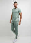 Gym King Signature Jogger - Basil
