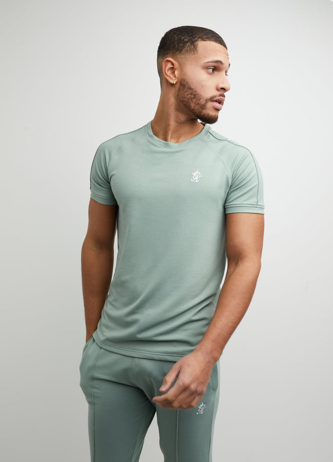 Gym King Signature Short Sleeve Tee - Basil