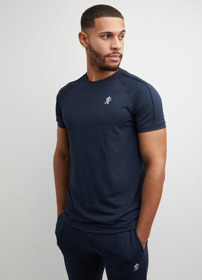 Gym King Signature Short Sleeve Tee - Dark Navy