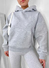 Gym King Dynamic Boyfriend Hood - Grey Marl