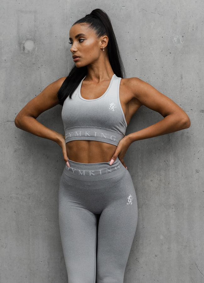 Gym King Sport Ombre Bra - Grey