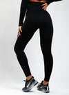 Gym King Sport Balance Rib Legging - Black