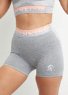 Gym King Sport Power 3 Inch Short - Grey Marl