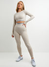 Gym King Sport Results Legging - Oatmeal