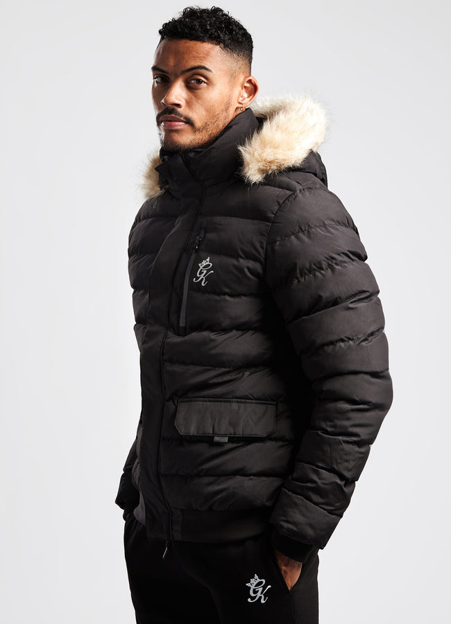 Gym King Sub Zero Jacket - Black