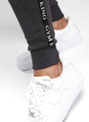 Gym King Taped Jogger - Charcoal Marl