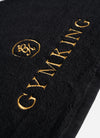 Gym King Gym Towel - Black/Gold