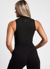 Gym King Zip Bodysuit - Black