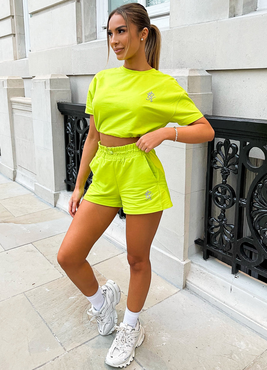 Gym King Ultra Short - Lime