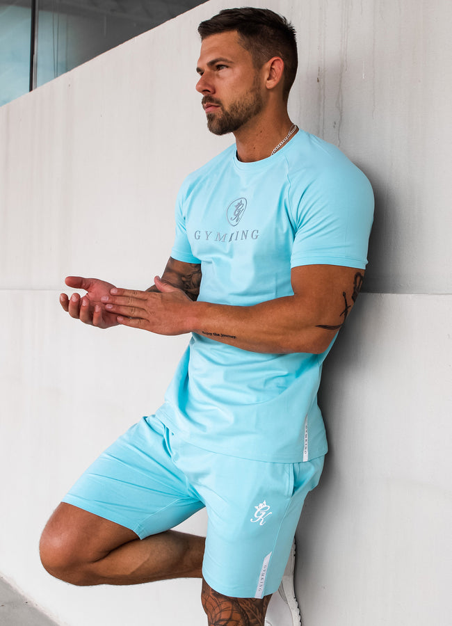 Gym King Sport  Pro Logo Tee - Mint