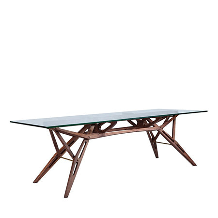 rectangle modern dining table