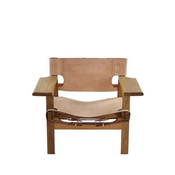leather seat lounge chair