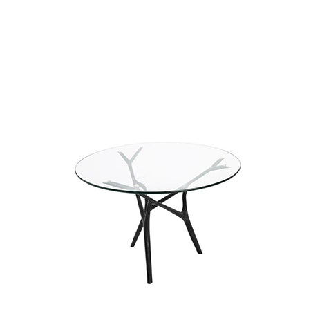 Branch Round Bronze Base Dining Table