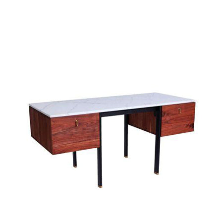marble top office desk