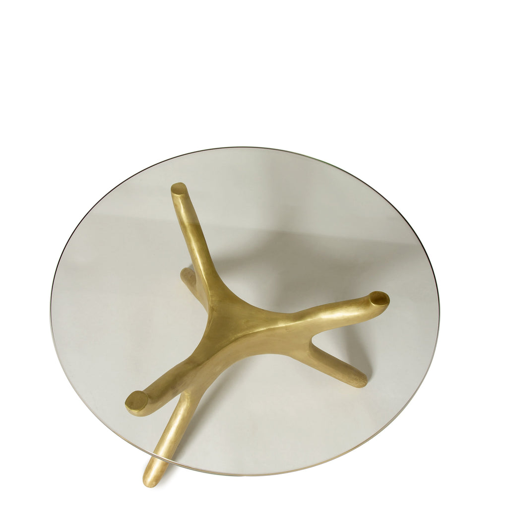 Okto Brass Coffee Table