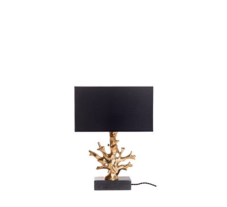 coral shape table lamp